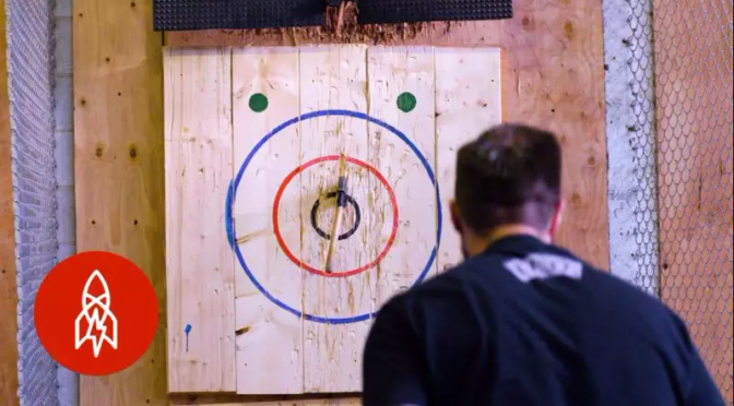 Axe Throwing Target – Makes Your Own Workout!