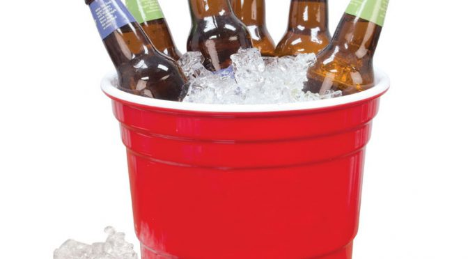 The Party Ice Bucket Makes a Perfect Ice Cooler for Your Next Event